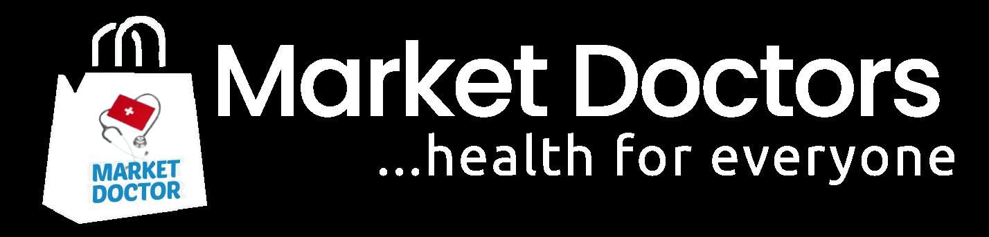 LOGO MARKET DOCTORS WHIE